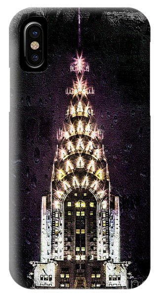 Chrysler Building iPhone Case - Set In Stone by Az Jackson