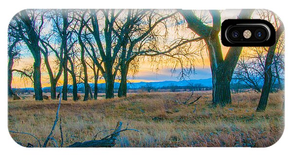 Setting Sun At Rocky Mountain Arsenal_1 IPhone Case