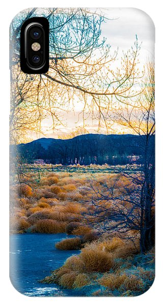 Setting Sun At Rocky Mountain Arsenal_2 IPhone Case