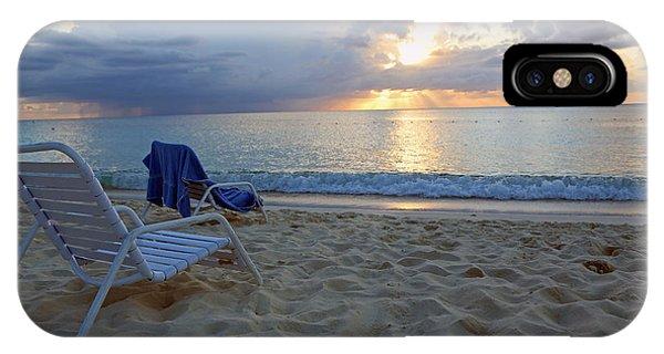 Sunset On Seven Mile Beach IPhone Case