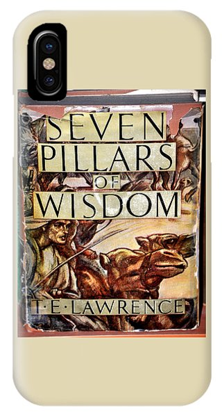 Seven Pillars Of Wisdom Lawrence IPhone Case