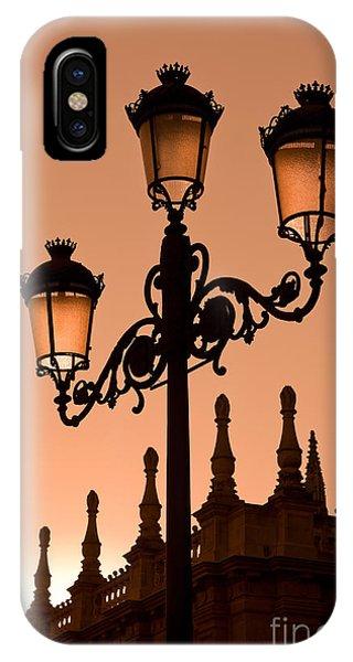 Street Light iPhone Case - Seville Lantern by Rod McLean