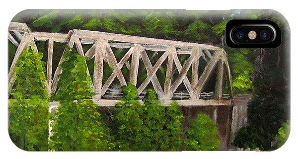 Sewalls Falls Bridge IPhone Case