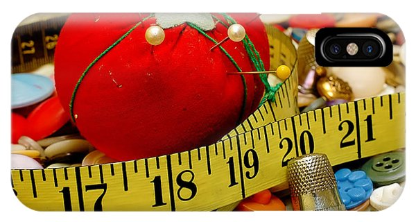 Sewing Items IPhone Case