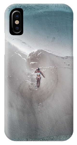 Africa iPhone X Case - Seychelles - Mermaid by Jean Claude Castor