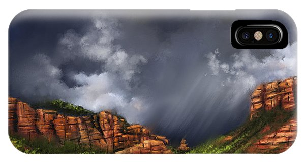Thunderstorm In Sedona IPhone Case