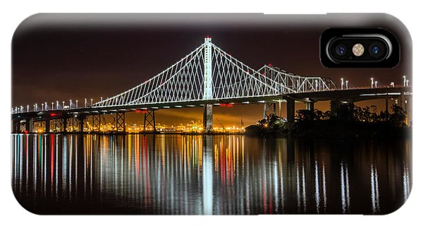 Sf Bay Bridge IPhone Case