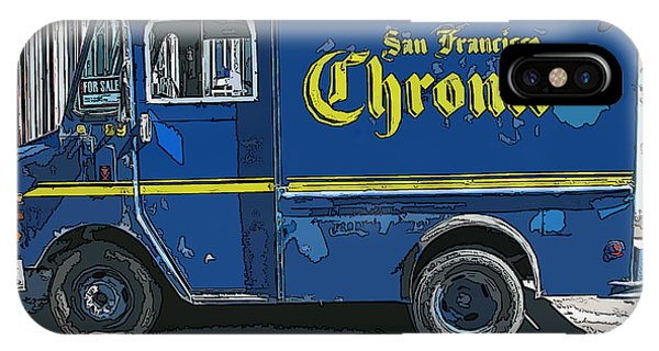 Sf Chronic Truck For Sale IPhone Case