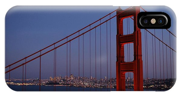Sf Through The Bridge IPhone Case