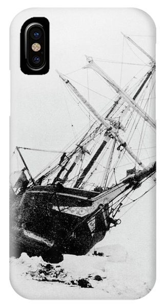 iPhone Case - Shackleton's Ship Trapped In Antarctic Ice by Science Photo Library