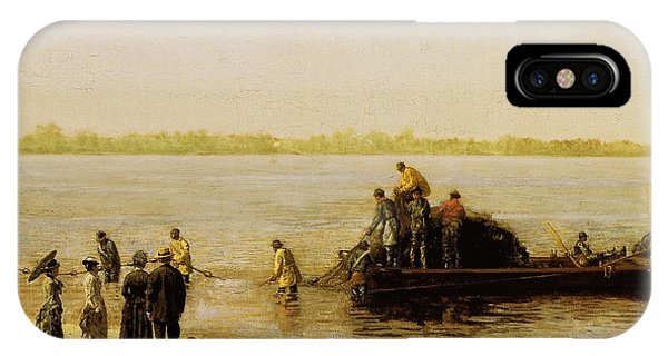 iPhone Case - Shad Fishing On The Delaware River by