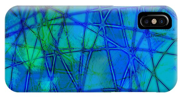 Shades Of Blue   Phone Case by Ann Powell