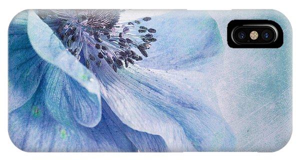 Blue iPhone Case - Shades Of Blue by Priska Wettstein