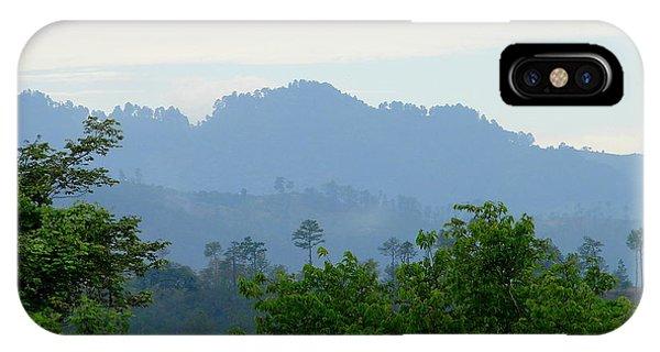 Shades Of Honduran Blue IPhone Case