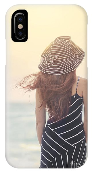 Ocean Breeze iPhone Case - Shades Of Yesterday by Evelina Kremsdorf