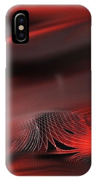 Shades Series Fire Red IPhone Case