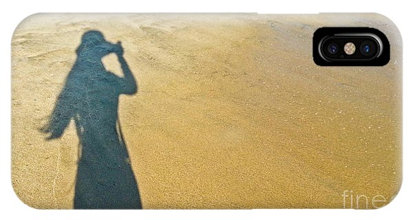 Shadow And Sand Raw IPhone Case