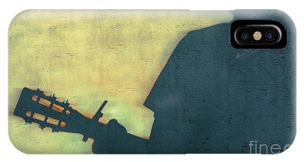 Shadow Back Capo Blues  Phone Case by Steven Digman