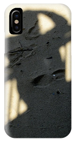 Shadow In The Sand IPhone Case