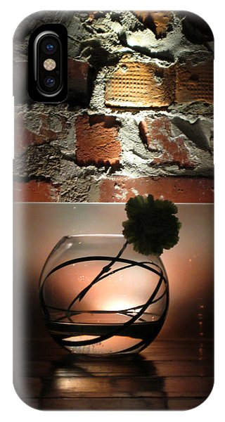 Shadow Flower IPhone Case