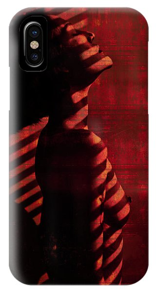Beauty iPhone Case - Shadow Over Me by Thanakorn Chai Telan