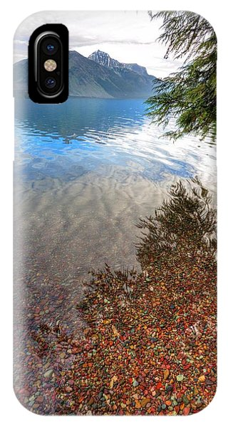 Shadow Pebbles IPhone Case