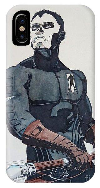 Shadowman II IPhone Case