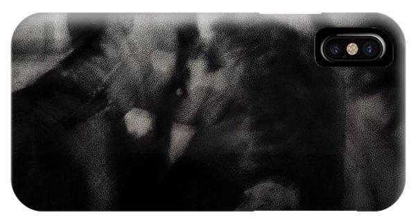 Tender iPhone Case - Shadows ( The Kiss ) by Dalibor Davidovic