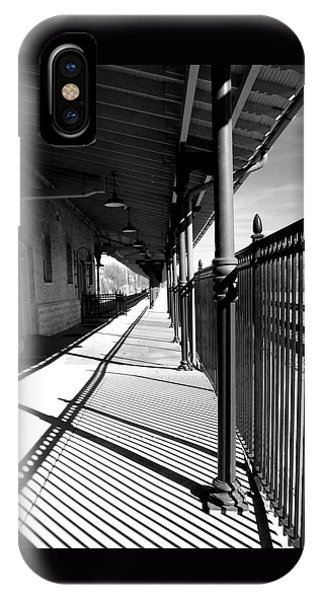 Shadows At The Station IPhone Case