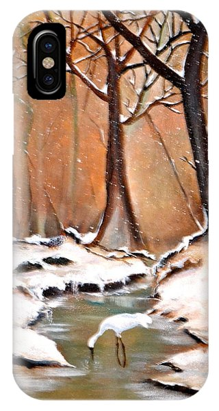 Shadows Beyond Winter IPhone Case