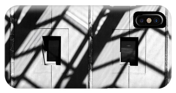 Shadows - Parliament House - Canberra - Australia IPhone Case