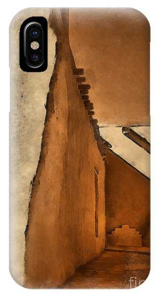 Shadows In Aquarell   IPhone Case