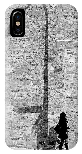 Shadows On St-laurent IPhone Case