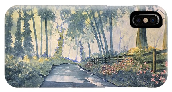 Shadows On The Setterington Road IPhone Case