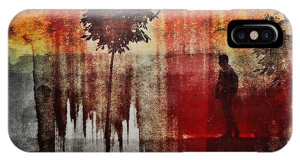 Shadows (one Way) Phone Case by Dalibor Davidovic
