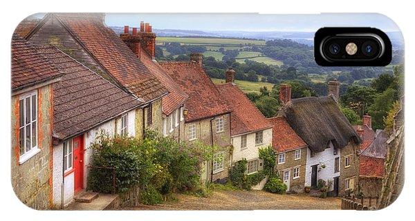 Dorset iPhone Case - Shaftesbury - England by Joana Kruse