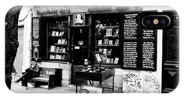 Shakespeare And Company Boookstore In Paris France IPhone Case