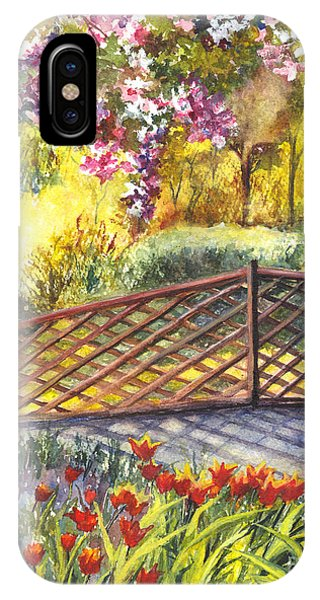 Shakespeare Garden Central Park New York City IPhone Case