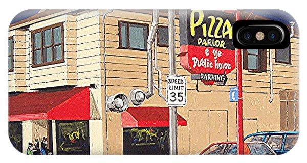 Shakey's Pizza Phone Case by Paul Guyer
