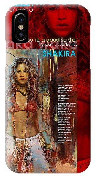 Shakira Art Poster IPhone Case