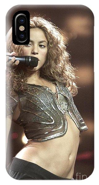 Shakira iPhone Case - Shakira by Concert Photos