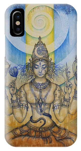 Shakti - Tripura Sundari IPhone Case