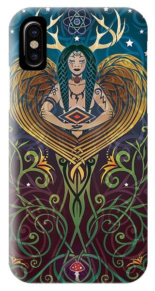 Tribal iPhone Case - Shaman V.2 by Cristina McAllister