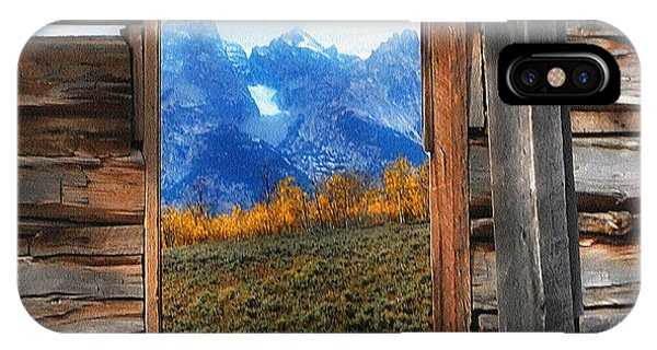 Shane Cabin Window  IPhone Case