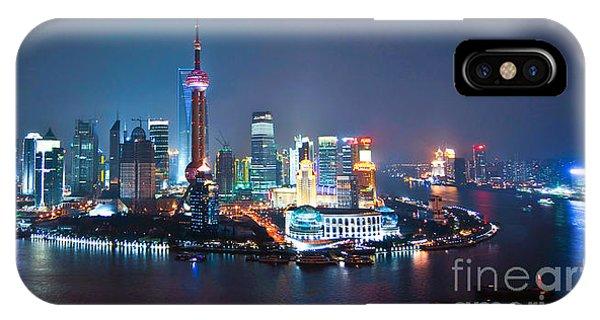 Shanghai Panorama IPhone Case