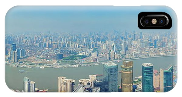 Shanghai Panorama IPhone Case