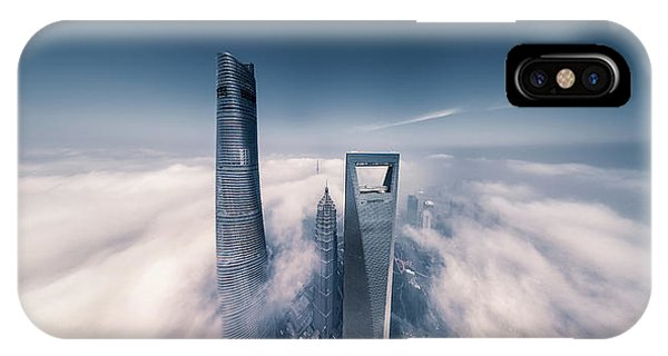 Panorama iPhone Case - Shanghai Tower by Vview Chen