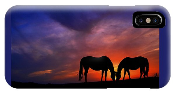 Sharing Supper IPhone Case