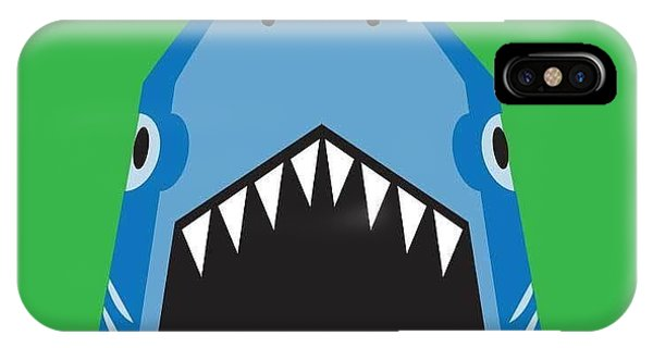 Inside iPhone Case - Shark Illustration, T-shirt Graphics by Syquallo