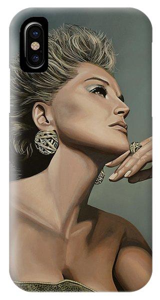 Nobel iPhone Case - Sharon Stone by Paul Meijering